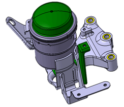 Engine Mount 3d